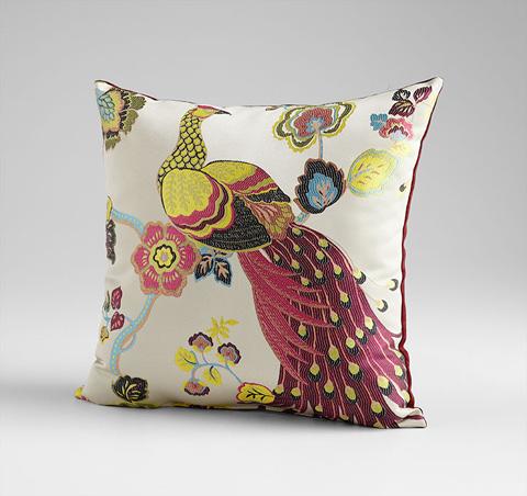 Cyan Designs - Peacock Pillow - 06526