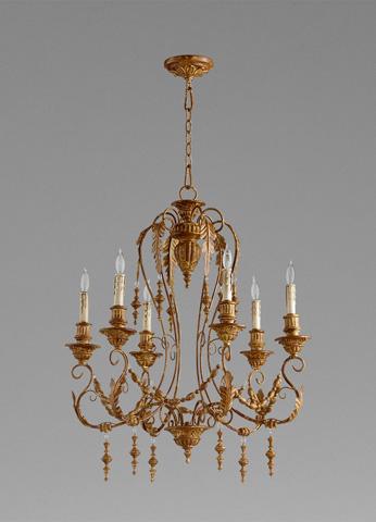 Cyan Designs - Lolina Six Light Chandelier - 06579