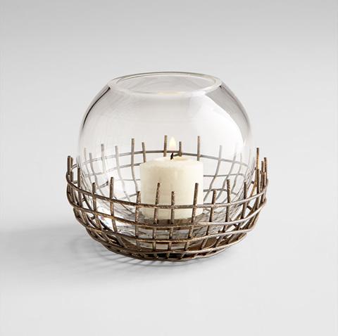 Cyan Designs - Small Silk Candleholder - 06670