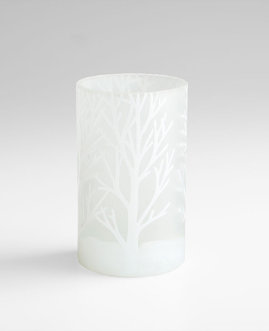 Cyan Designs - Small Frosted Bark Vase - 06743
