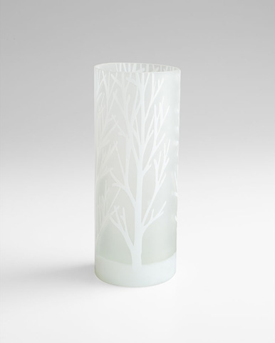 Cyan Designs - Large Frosted Bark Vase - 06744