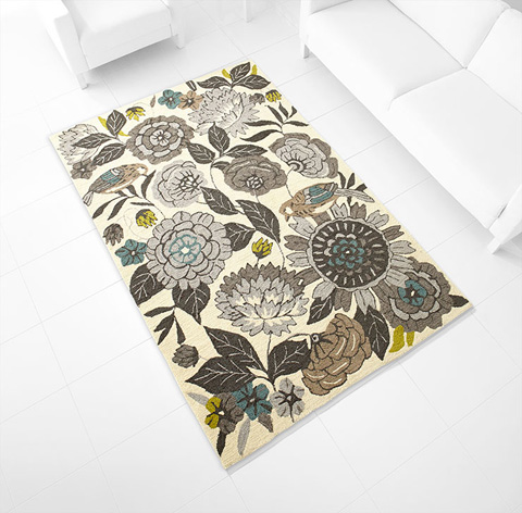 Cyan Designs - Royal Nouveau Rug - 06924