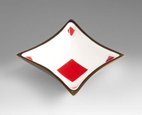 Cyan Designs - Diamond Tray - 07037