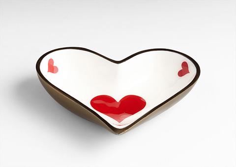 Cyan Designs - Heart Tray - 07038