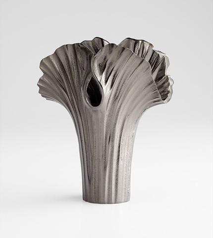 Cyan Designs - Small Alloy Palm Vase - 07086