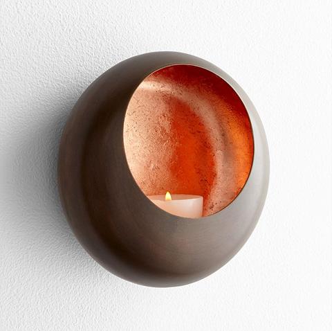 Cyan Designs - Small Aeneas Wall Candleholder - 07117