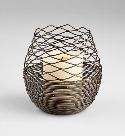 Cyan Designs - Coiled Silk Candleholder - 07148