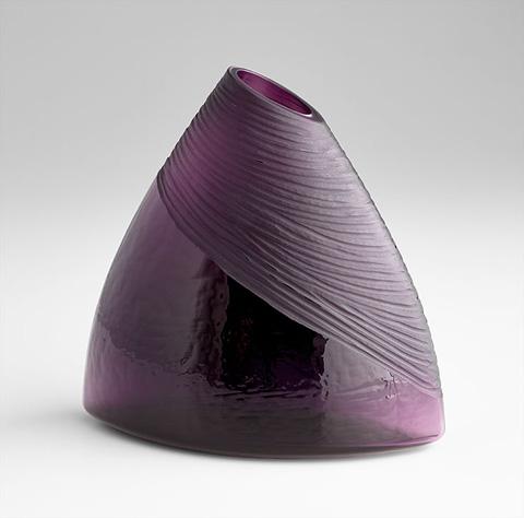 Cyan Designs - Small Mount Amethyst Vase - 07336