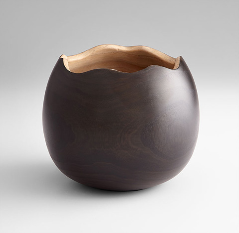 Cyan Designs - Large Bol Noir Vase - 07500