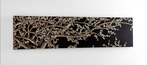 Cyan Designs - Cherry Blossom Wall Art - 07520