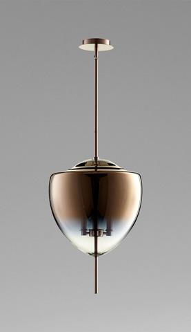 Cyan Designs - Ember Three Light Pendant - 07590