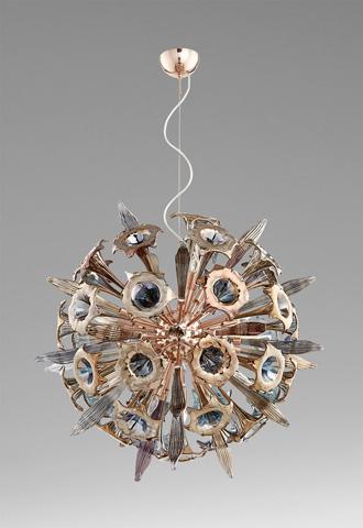 Cyan Designs - Sixteen Light Remy Pendant - 07595