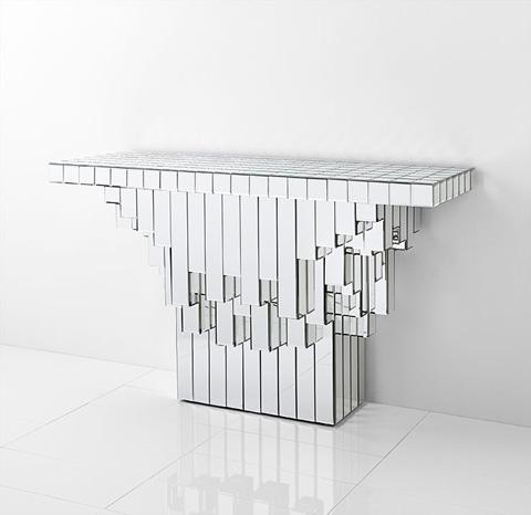 Cyan Designs - Cubic Console - 07906