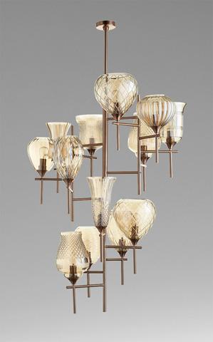 Cyan Designs - Darcey Chandelier - 07951