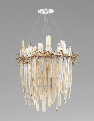 Cyan Designs - Small Thetis Chandelier - 07985