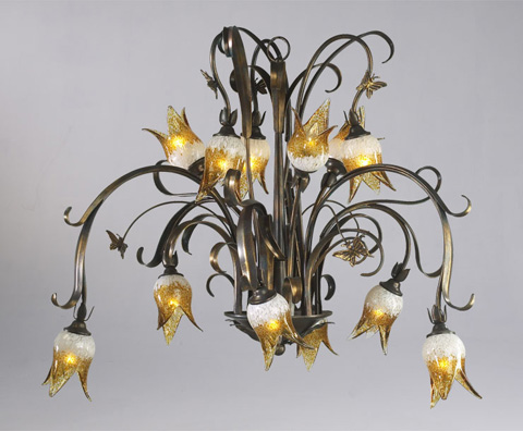 Cyan Designs - Papillion Chandelier - 6406-12-93
