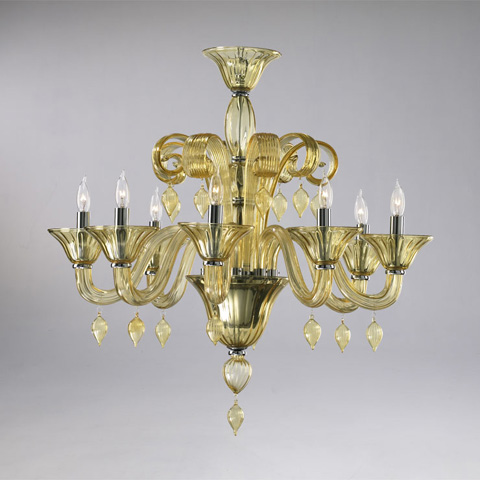 Cyan Designs - Trviso Chandelier - 6493-8-14