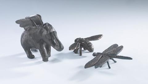 Cyan Designs - Bees Sculpture - 00192