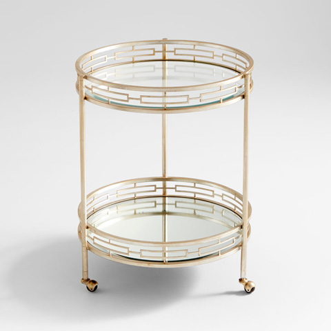 Image of Gilded Meridian Bar Cart