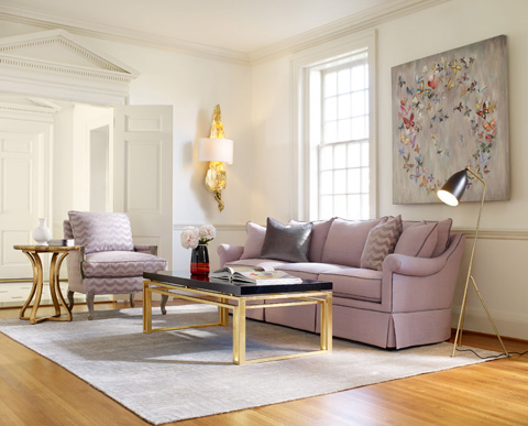 Image of Cynthia Rowley Three Piece Living Room Collection