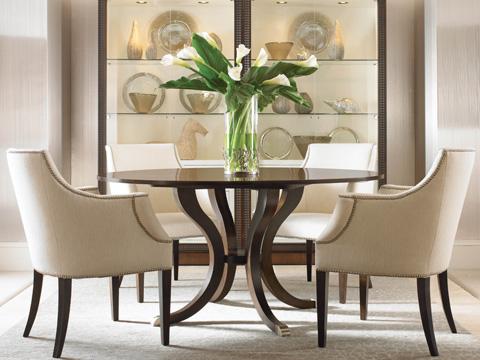 Century Furniture - Round Pedestal Dining Table - 339-306
