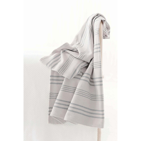 Dash & Albert Rug Company - Aland Stripe Woven Cotton Throw - RDA280-THR