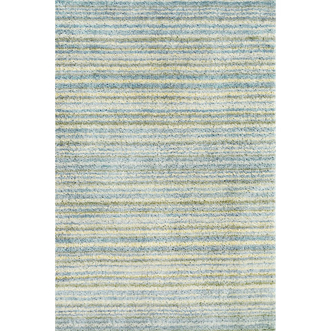 Dash & Albert Rug Company - Brindle Stripe Sea Hand Knotted 8x10 Rug - RDA085-810