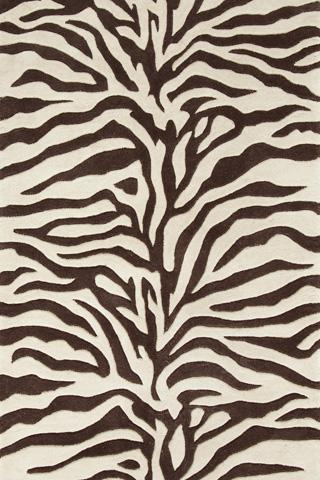 Dash & Albert Rug Company - Zebra Wool Tufted 8x10 Rug - RDA116-810