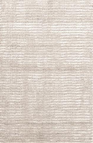 Dash & Albert Rug Company - Cut Stripe Ivory Viscose 8x10 Rug - RDA243-810