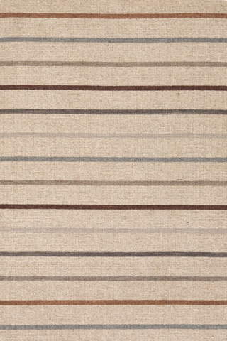 Dash & Albert Rug Company - Stone House Stripe Wool Woven 8x10 Rug - RDA248-810