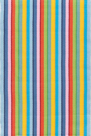 Dash & Albert Rug Company - Granada Stripe Cotton Woven 8x10 Rug - RDA283-810