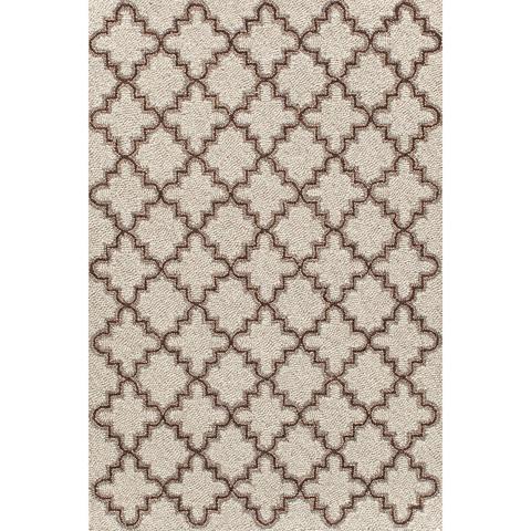 Dash & Albert Rug Company - Plain Tin Oatmeal Wool 8x10 Rug - RDA296-810