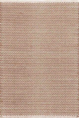 Dash & Albert Rug Company - Herringbone Stone Woven Cotton 8x10 Rug - RDA359-810