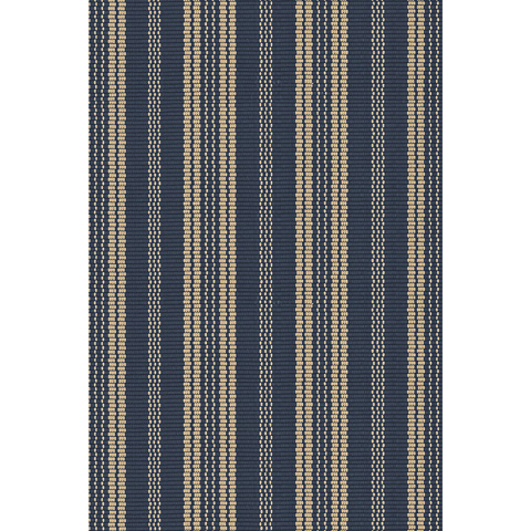 Image of Otis Navy Indoor/Outdoor 8.5x11 Rug