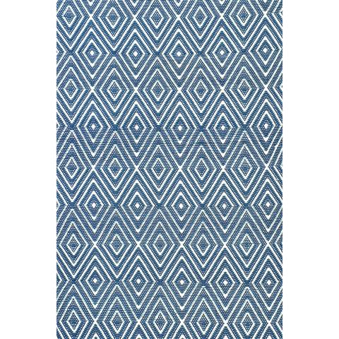Dash & Albert Rug Company - Diamond Denim 8.5x11 Rug - RDB098-8511