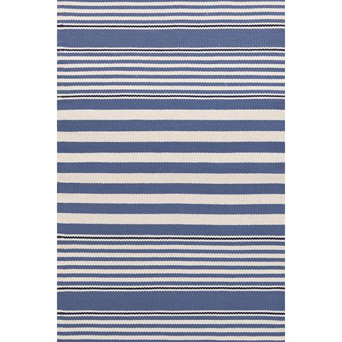 Dash & Albert Rug Company - Beckham Stripe Denim 8.5x11 Rug - RDB184-8511