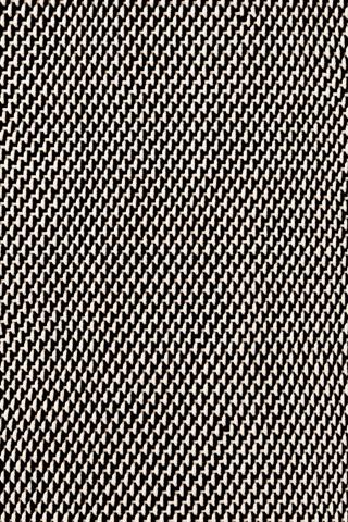 Dash & Albert Rug Company - Two Tone Rope Black 8.5x11 Rug - RDB219-8511