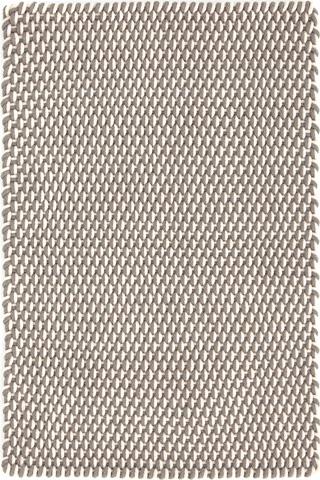 Dash & Albert Rug Company - Two Tone Rope Fieldstone 8.5x11 Rug - RDB244-8511