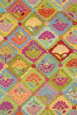 Dash & Albert Rug Company - Field of Flowers Wool 8x10 Rug - RKF12-810