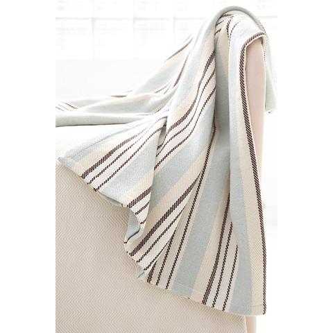 Dash & Albert Rug Company - Vanilla Sky Woven Cotton Throw - RDA109-THR
