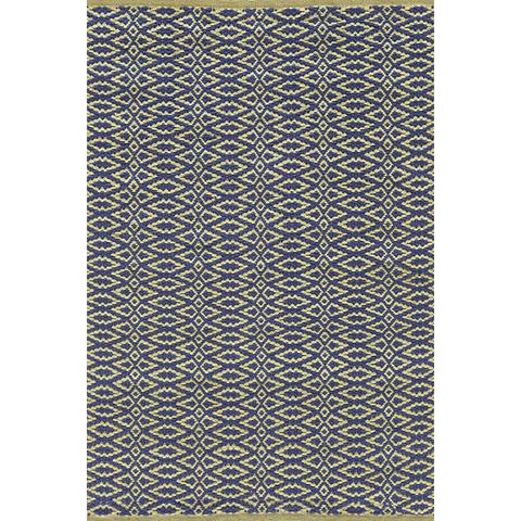 Dash & Albert Rug Company - Fair Isle Rosemary/Ink Cotton Woven Rug - RDA269-912