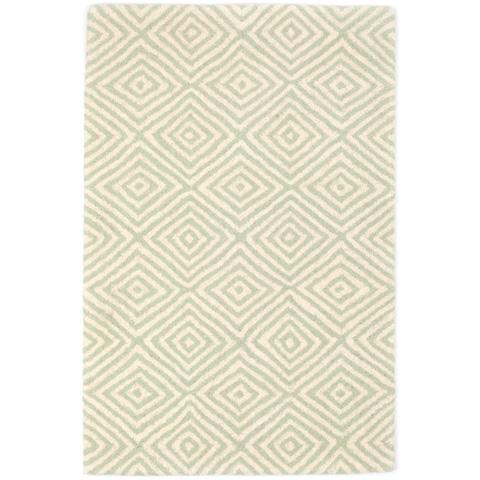 Dash & Albert Rug Company - Tivoli Ocean Wool Tufted Rug - RDA396-58