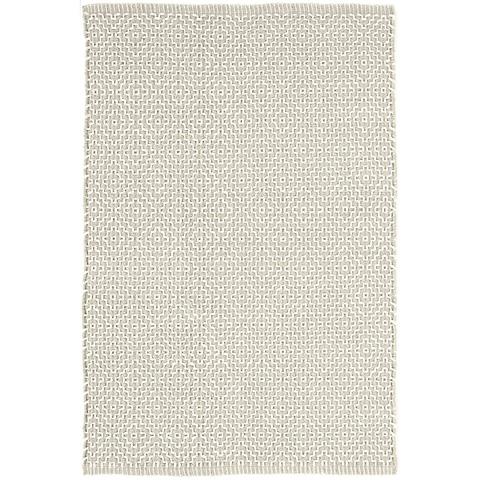 Dash & Albert Rug Company - Beatrice Grey Woven Cotton Rug - RDA411-58