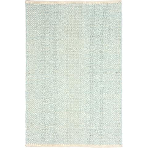 Dash & Albert Rug Company - Herringbone Sky Woven Cotton Rug - RDA422-810