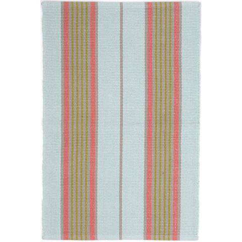 Dash & Albert Rug Company - Josie Ticking Woven Cotton Rug - RDA425-810