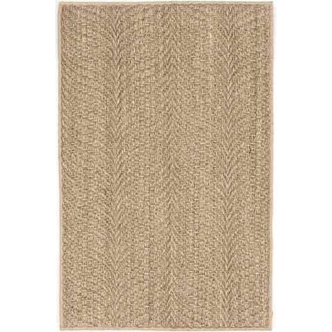 Dash & Albert Rug Company - Wave Natural Sisal Woven Rug - RDA433-58