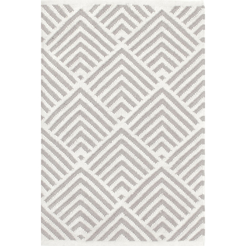 Dash & Albert Rug Company - Cleo Cement Indoor/Outdoor Rug - RDB275-58