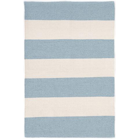 Dash & Albert Rug Company - Falls Village Stripe Blue Indoor/Outdoor Rug - RDB307-58