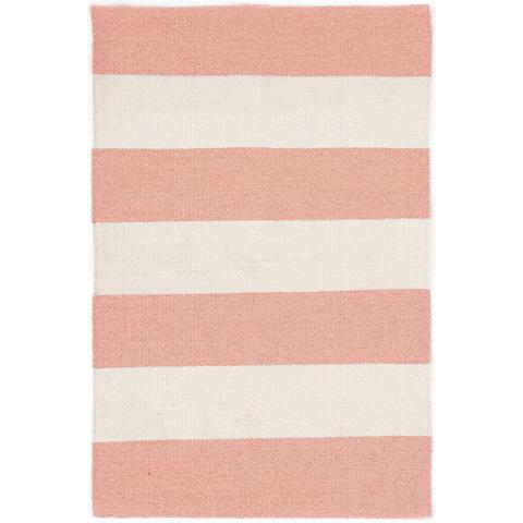 Dash & Albert Rug Company - Falls Village Stripe Pink Indoor/Outdoor Rug - RDB311-58