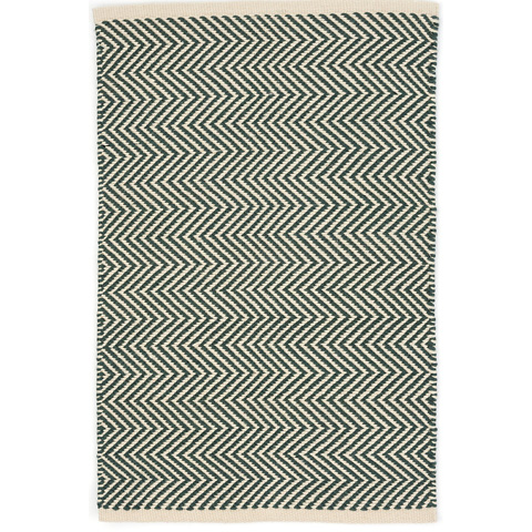 Dash & Albert Rug Company - Arlington Pine/Ivory Indoor/Outdoor Rug - RDB335-58